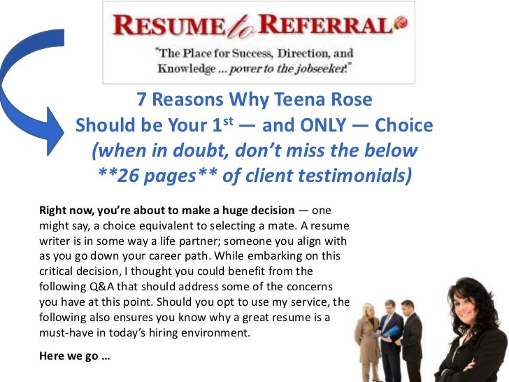 7 Reasons Why Teena Rose       Should be Your 1st — and ONLY — Choice         (when in doubt, don't miss the below        ...