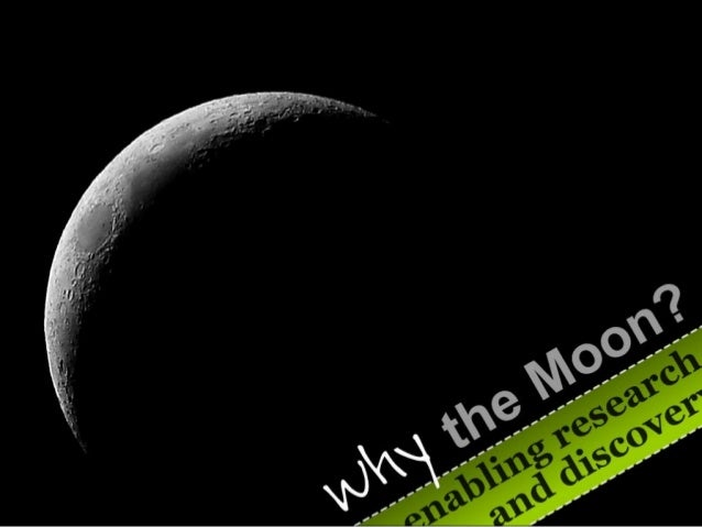 Why the moon