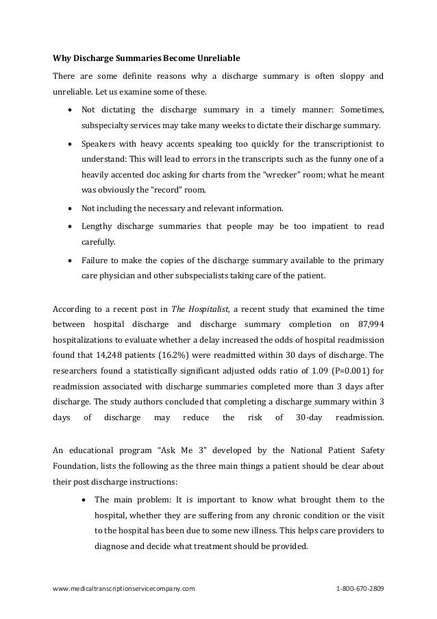 discharge summary - solarfm.tk