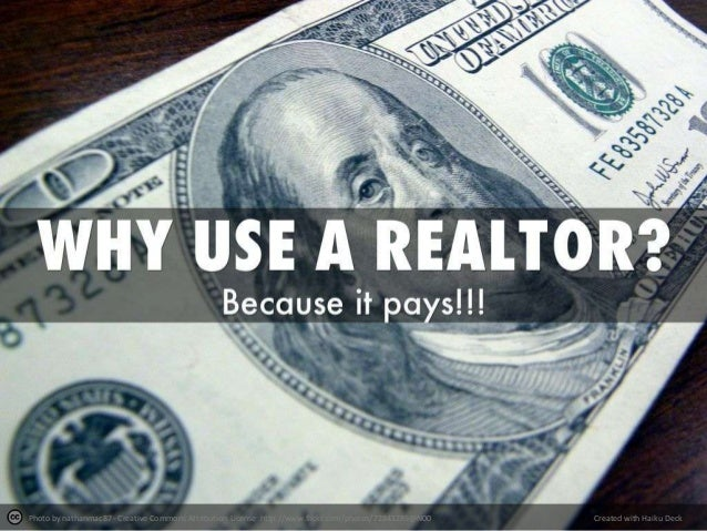 Why use a Realtor