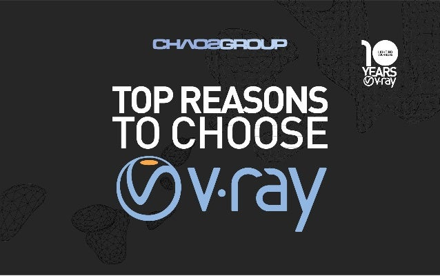 For over a decade Chaos Group's flagship rendering software, V-Ray® , has set the standard for speed, reliability, ease of...