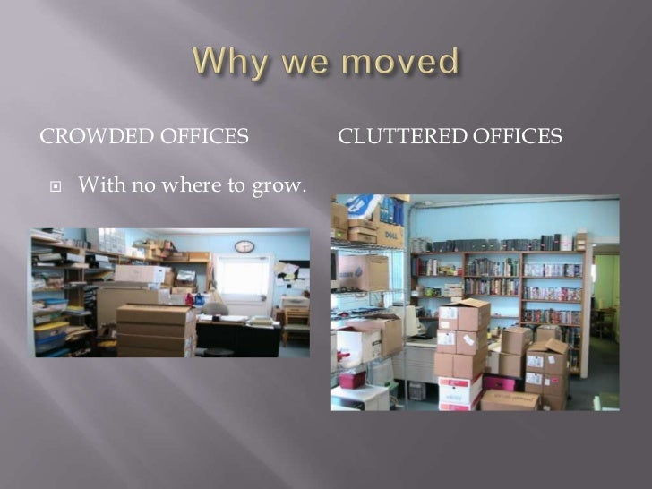 Why we moved