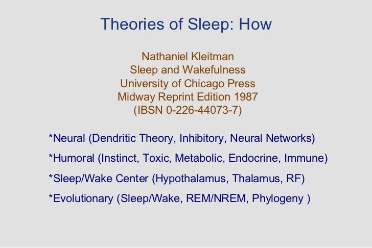 theories on stages of sleep Psychology definition of sleep stages: 4 cycle progression of electrical activity that is recorded by an eec stage 1 is marked by drowsiness stage 2 is light sleeping, stage 3 and 4 show delta.