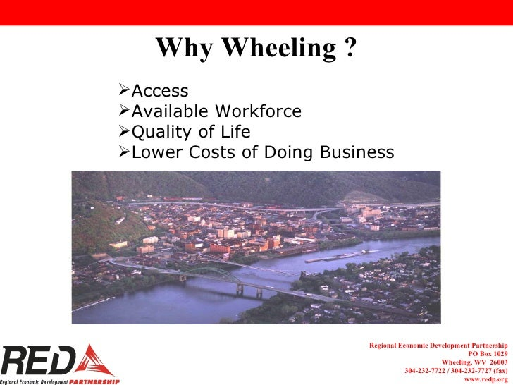 Why Wheeling, WV?  Detailed presentation