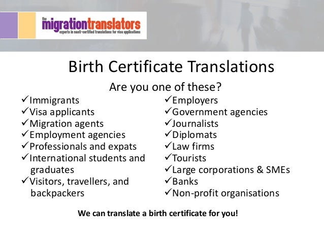 for certificate application hindi in birth an why certificate accurate birth translation need you