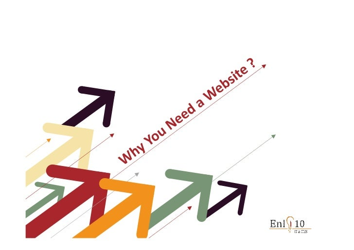 Why you need website ?