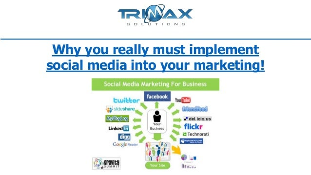 Why you really must implement social media into your marketing!