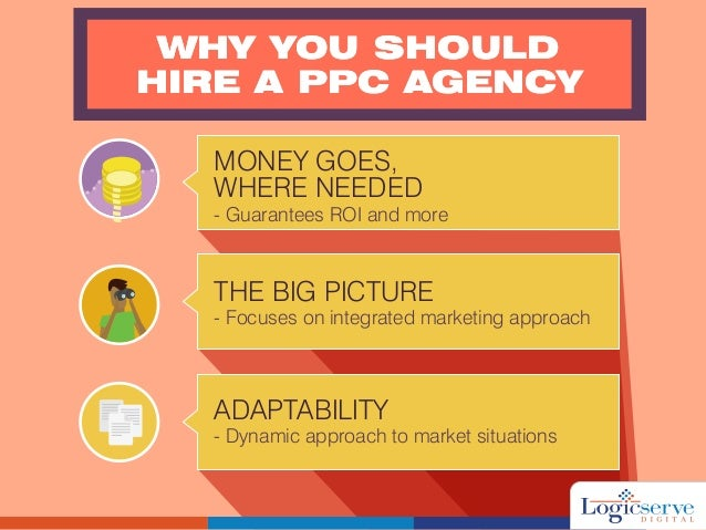 WHY YOU SHOULD HIRE A PPC AGENCY WHY YOU SHOULD HIRE A PPC AGENCY MONEY GOES, WHERE NEEDED - Guarantees ROI and more THE B...