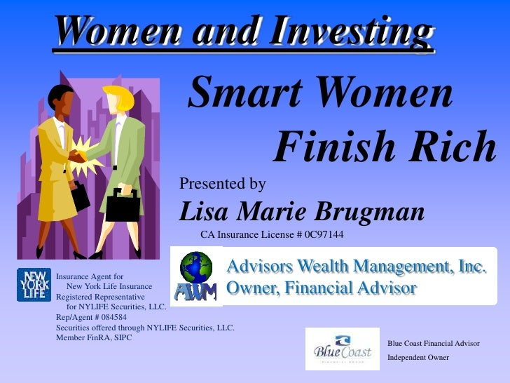Women and Investing                                     Smart Women                                        Finish Rich    ...