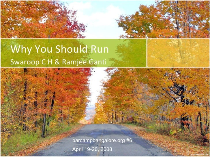 Why You Should Run