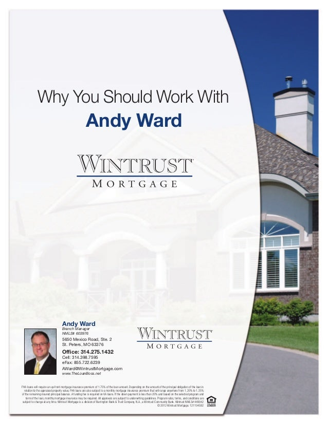 Why You Should Work With                                                       Andy Ward                                  ...