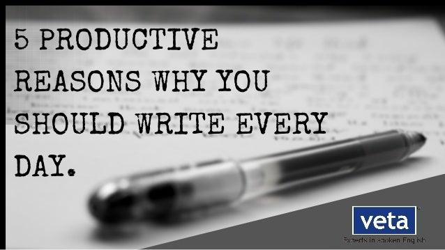why should i write - photo #36