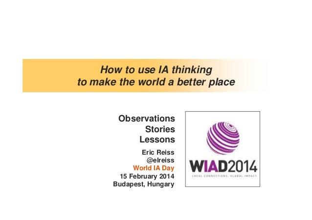 WIAD Budapest 2014