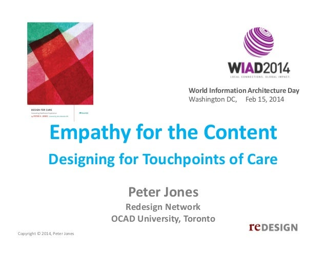 Empathy for the Content - WIAD DC
