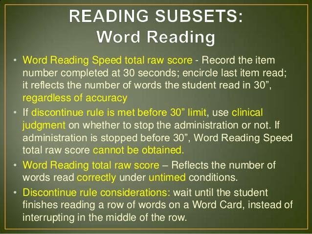 How to score wiat iii essay