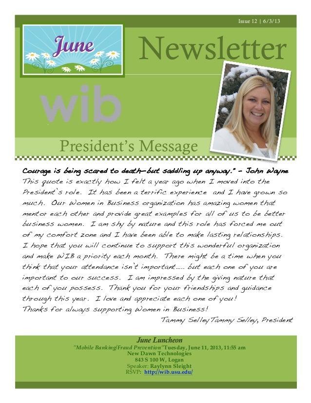 Wib 6 13 newsletter