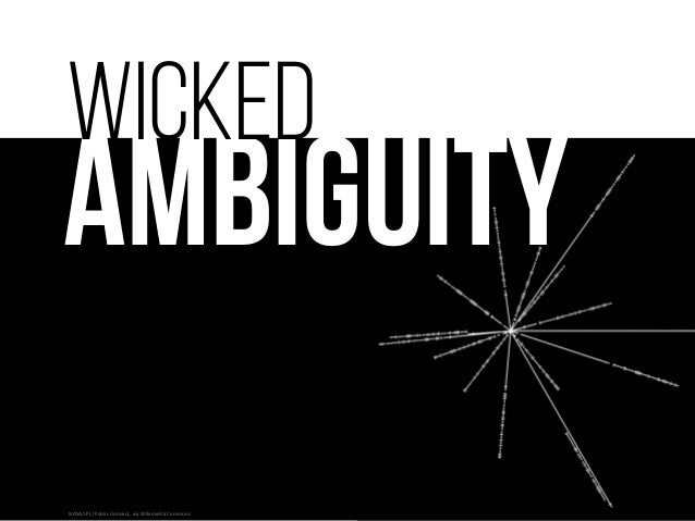 Wicked Ambiguity: Solving the World's Hardest Problems