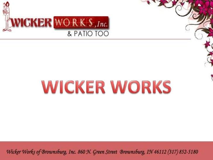 Attractive Wicker, Patio, Outdoor, Furniture Indianapolis : Wickerworksofbrownsburg