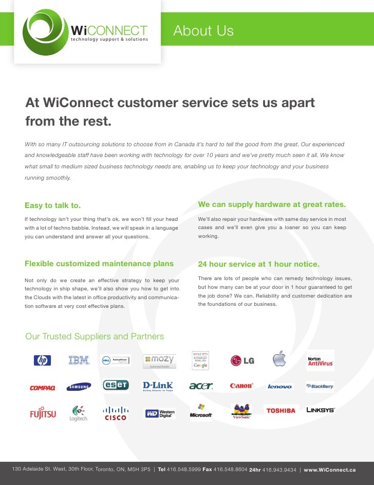 WiCONNECT                       technology support & solutions                                                            ...
