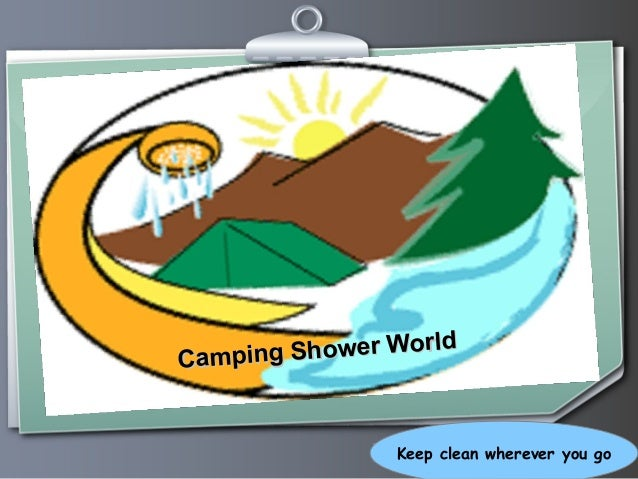 Ihr Logo Camping Shower World Camping Shower World Keep clean wherever you go