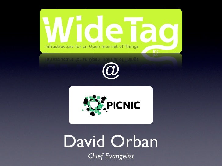 WideTag At Picnic08: The Social Energy Meter Announcement