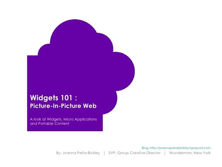 Widget 101