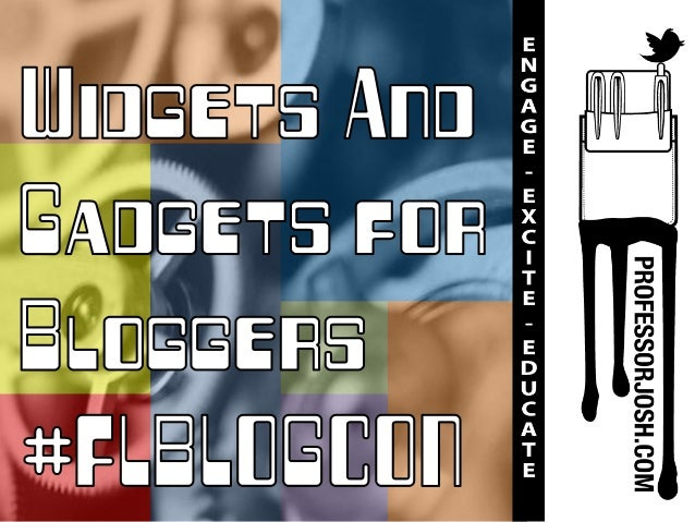 Widgets and Gadgets for Bloggers #FLBlogCon