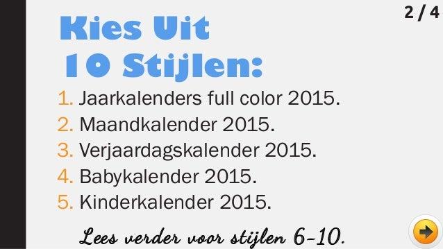 Wie wil er gratis kalenders (jaar 2015) downloaden?