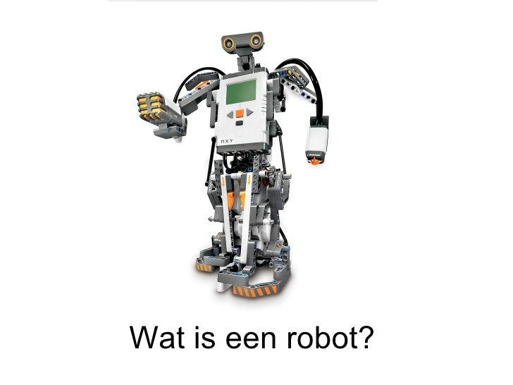 Wat is een robot?