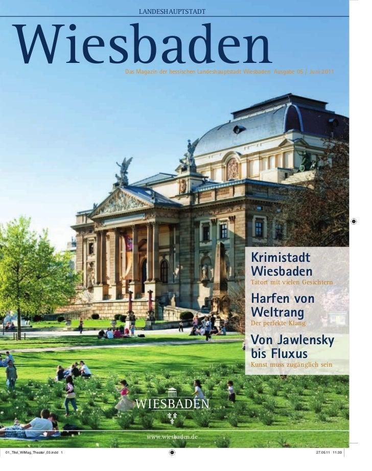 Wiesbaden Magazin Ausgabe Juni 2011