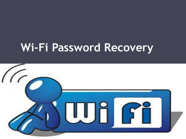 Wi-Fi Password Recovery