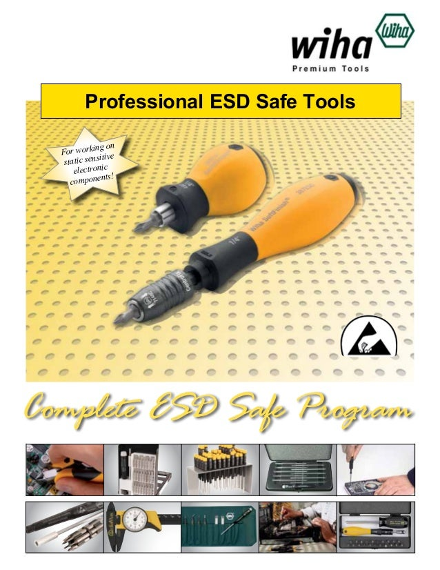 Professional ESD Safe Tools ing on For work ive sit static sen electronic nts! compone  Complete ESD Safe Program
