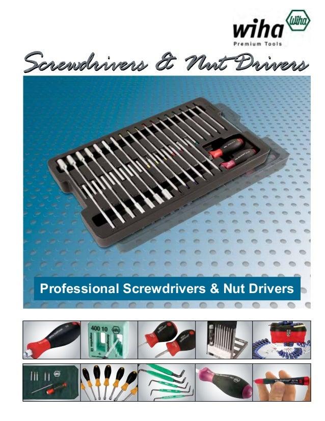 Wiha Screwdrivers Catalog