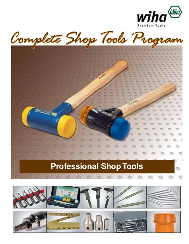 Wiha Shop Tools Catalog