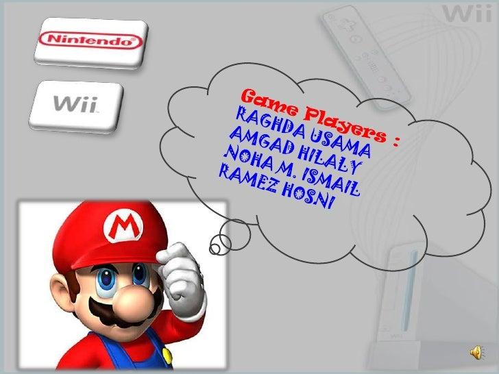 Game Players :RAGHDA USAMA<br />AMGAD HILALY<br />NOHA M. ISMAIL<br />RAMEZ HOSNI<br />