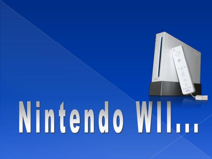 Nintendo WII          Fabricante: Nintendo          Tipo:        Videoconsola          Generación: Séptima generación     ...