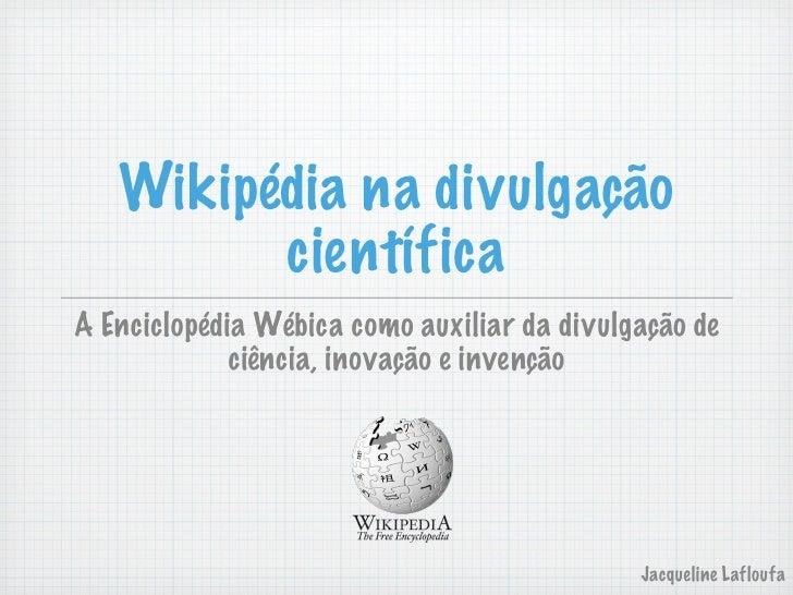 Wiki como-divulgador-ciencia