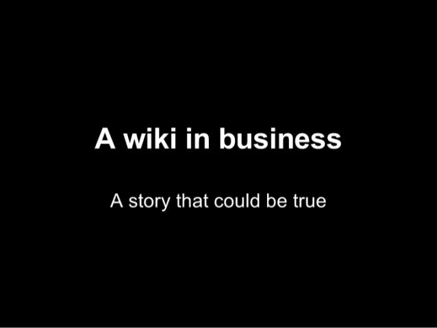 Wiki In Business