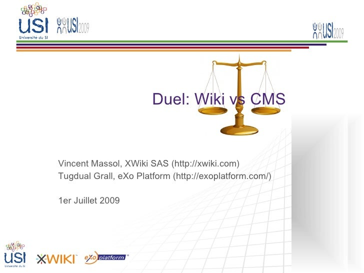 Wiki vs CMS