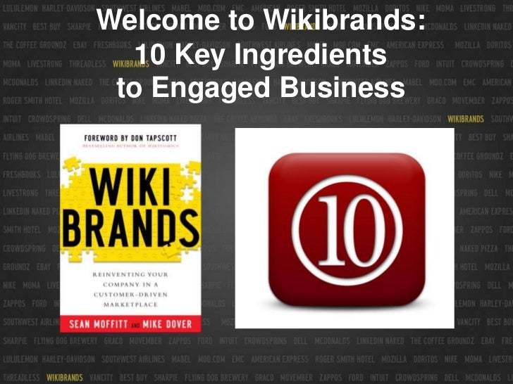 Welcome to Wikibrands:10 Key Ingredients to Engaged Business<br />