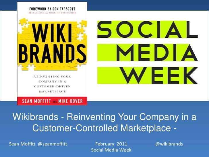 Wikibrands Social Media Week