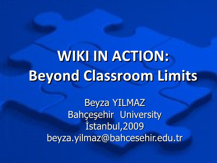 Wiki In Action