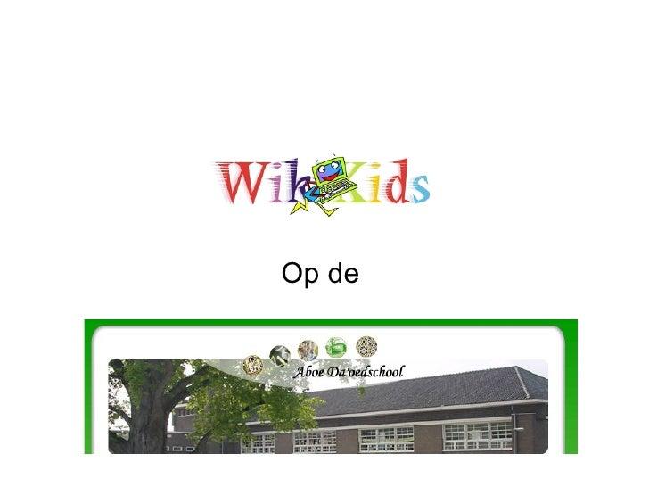 Wiki Kids Basisschool