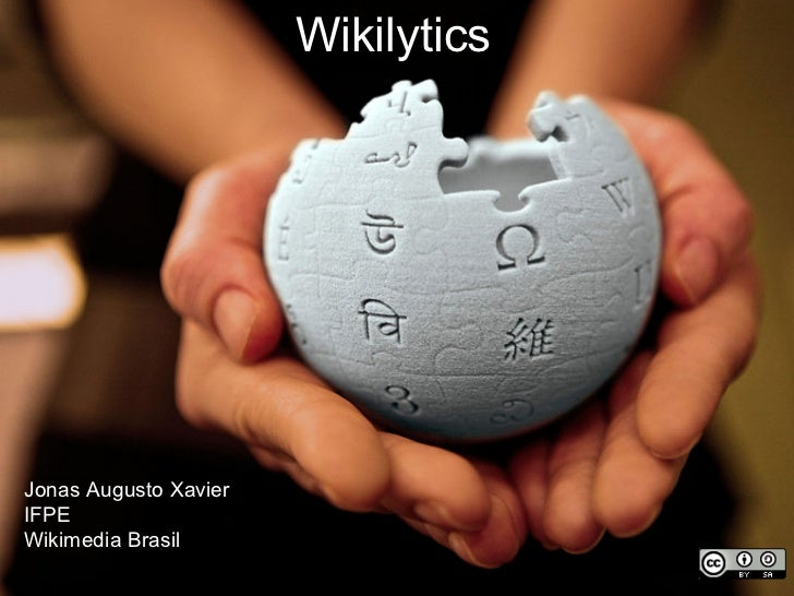 WikilyticsJonas Augusto XavierIFPEWikimedia Brasil