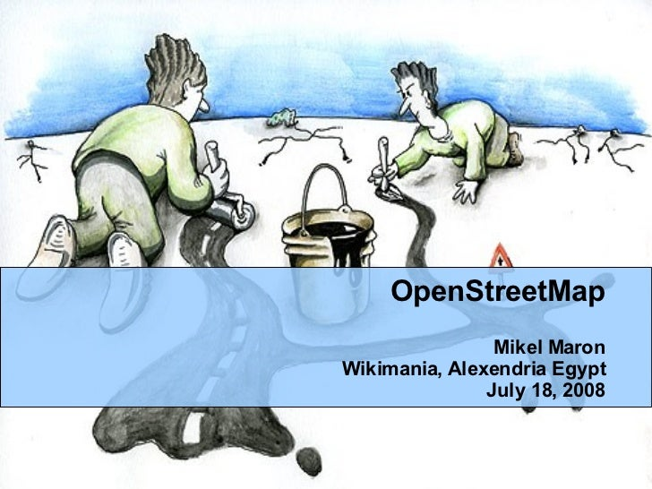 OpenStreetMap at Wikimania