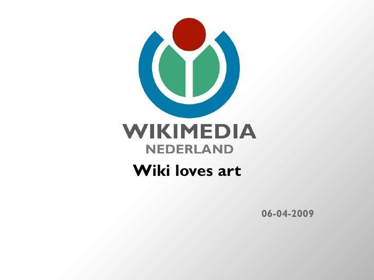 Wiki loves art                   06-04-2009