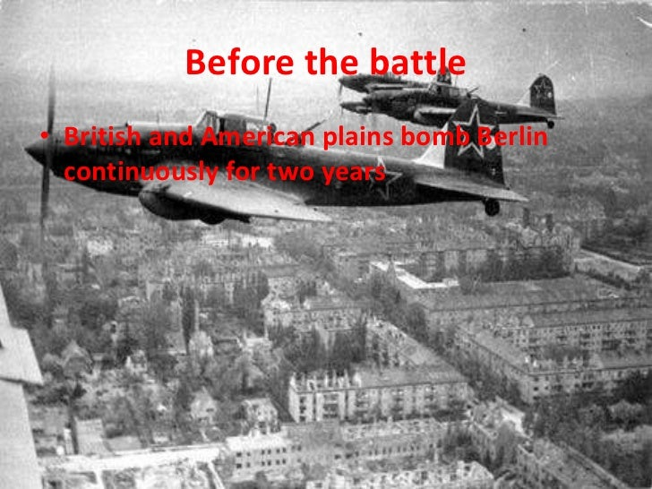 the battle for berlin The battle of berlin occurred from april 16th to may 2nd, 1945 and served as the major concluding battle of world war 2 in europe it also served as the.