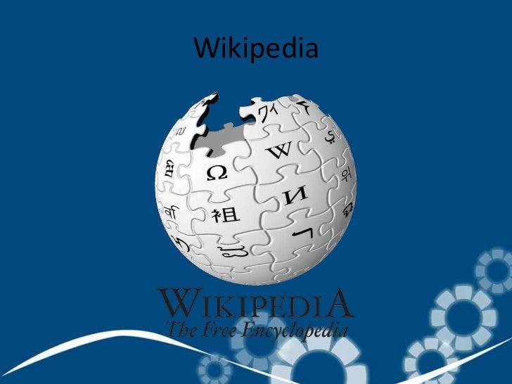 Wikipedia<br />