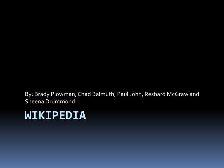 Wikipedia Powerpoint