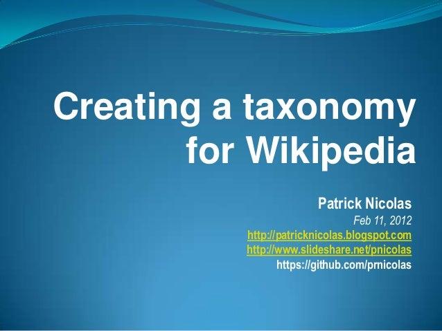 Semantic Analysis using Wikipedia Taxonomy